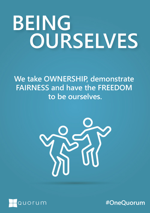Being Ourselves Culture and Values