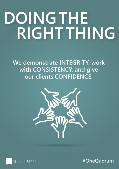 Doing The Right Thing Culture and Values