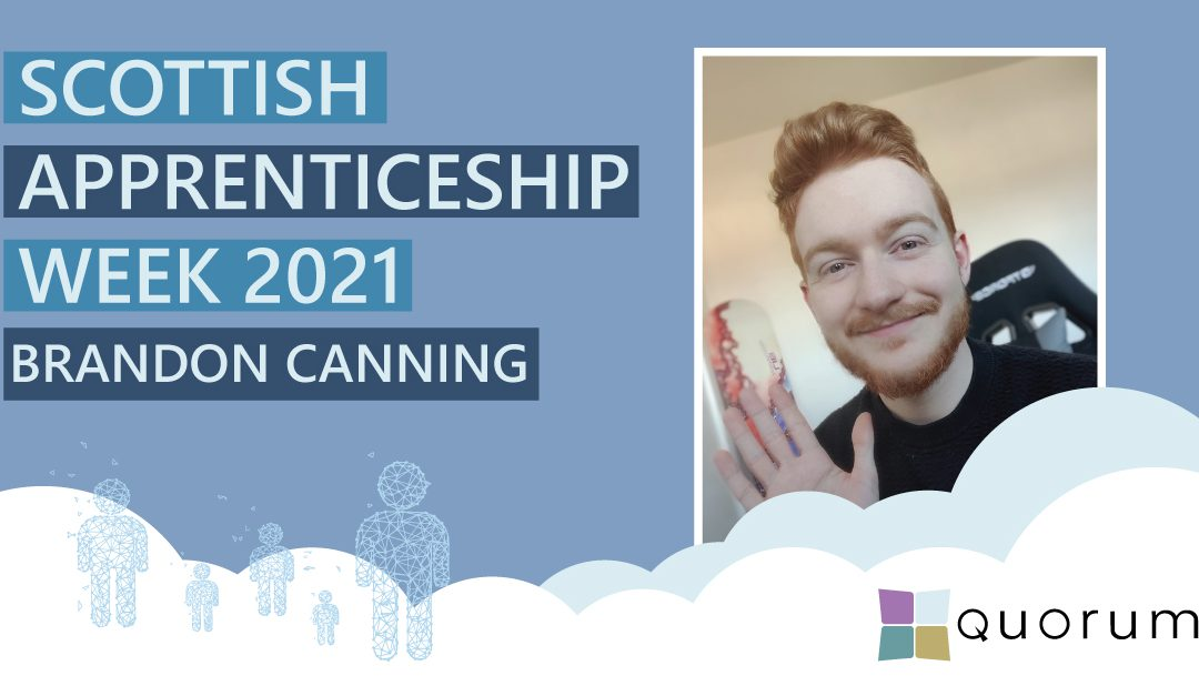 Scottish Apprenticeship Week 2021 – Brandon Canning